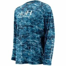 30% Off HUK ELEMENTS ICON LS Fishing Shirt--Pick Color/Size-