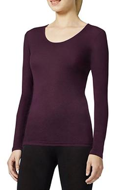 32 Degrees Heat Women's Long Sleeve Scoop Neck Base Layer To