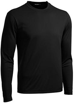 Joe's USA DRI-EQUIP Long Sleeve Moisture Wicking Athletic Sh