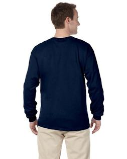 Fruit of the Loom Adult 5 oz HD Cotton Long-Sleeve T-Shirt -