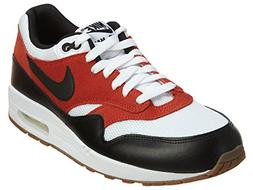 Nike Men's Air Max 1 Essential Shoes, White/Black/Gamma Oran