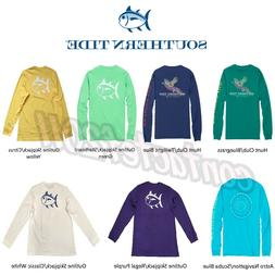 Southern Tide ASSORTED COLORS & SIZES Men's Long Sleeve T-Sh