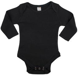 Earth Elements Baby Boys' Long Sleeve Bodysuit  - 100% Cot
