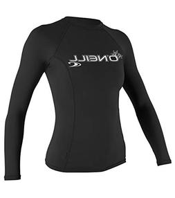 O'Neill Basic Skins Crew Rashguard - Long-Sleeve - Women's B