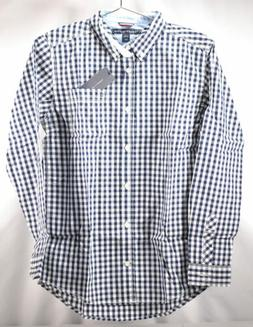 Tommy Hilfiger Big Boys Long Sleeve Baxter Dress Shirt, Flag