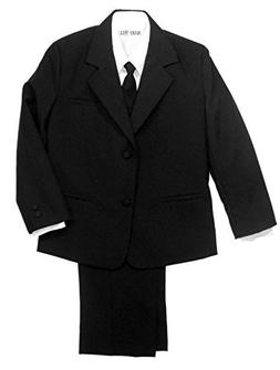 Avery Hill Boys Formal Tuxedo 5 Piece Suit with Shirt and Ve