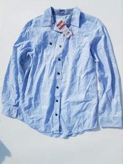 Boys Long Sleeve Button-Down Bugs Insects Shirt - Cat & Jack