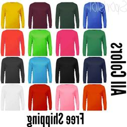 C2 Sport Performance Dri Fit Long Sleeve Tshirt 5104 Adult M