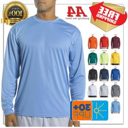 cooling performance long sleeve tee moisture wicking