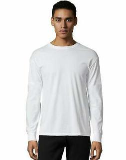 Hanes Crewneck Long Sleeve T-Shirt X-Temp Men's Soft Wicking
