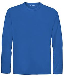 DRI-EQUIP Youth Long Sleeve Moisture Wicking Athletic Shirts