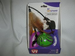 SmartyKat Feather Whirl Electronic Motion Cat Toy, As Seen O