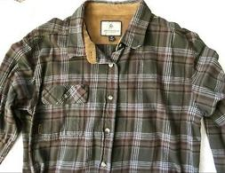 Legendary Whitetails Flannel Plaid Long Sleeve Shirt XL