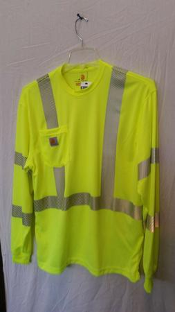 Carhartt Force high-visibility long sleeve t-shirt with refl