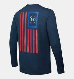 Under Armour Freedom New Flag Men's Tactical Long Sleeve S