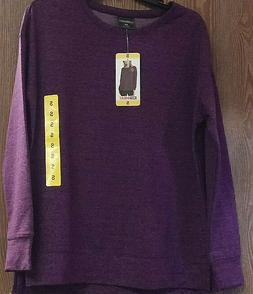 32 Degrees Heat Fleece Interior Long Sleeve Blue or Purple