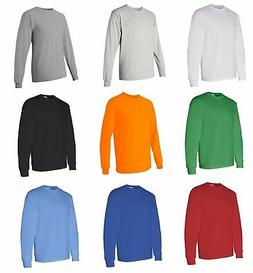 Gildan Heavy Cotton Long Sleeve T-Shirt 5400 - Pick Color &