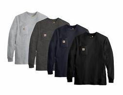 Carhartt K126 Mens Workwear Jersey Pocket Long-Sleeve T-Shir