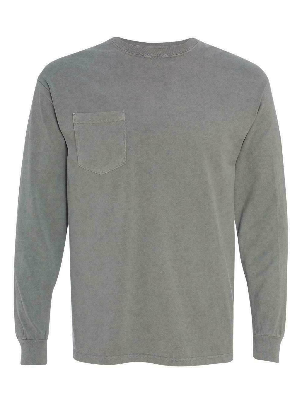 Comfort Colors - Pack Long Sleeve Pocket - 4410