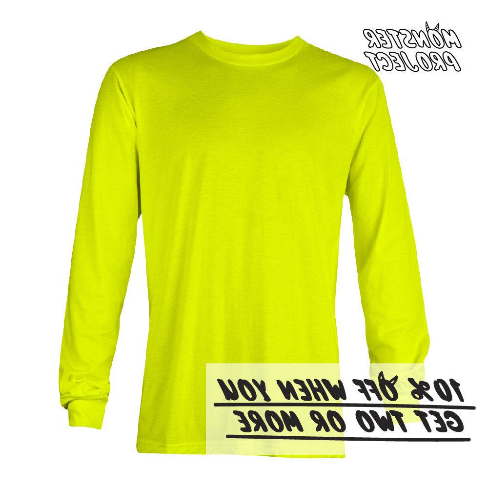 AAA LONG SLEEVE WORK BASIC TEE ACTIVE