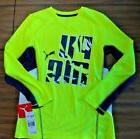 Puma Boys Long Sleeve Shirts Boys medium Brand New With Tags
