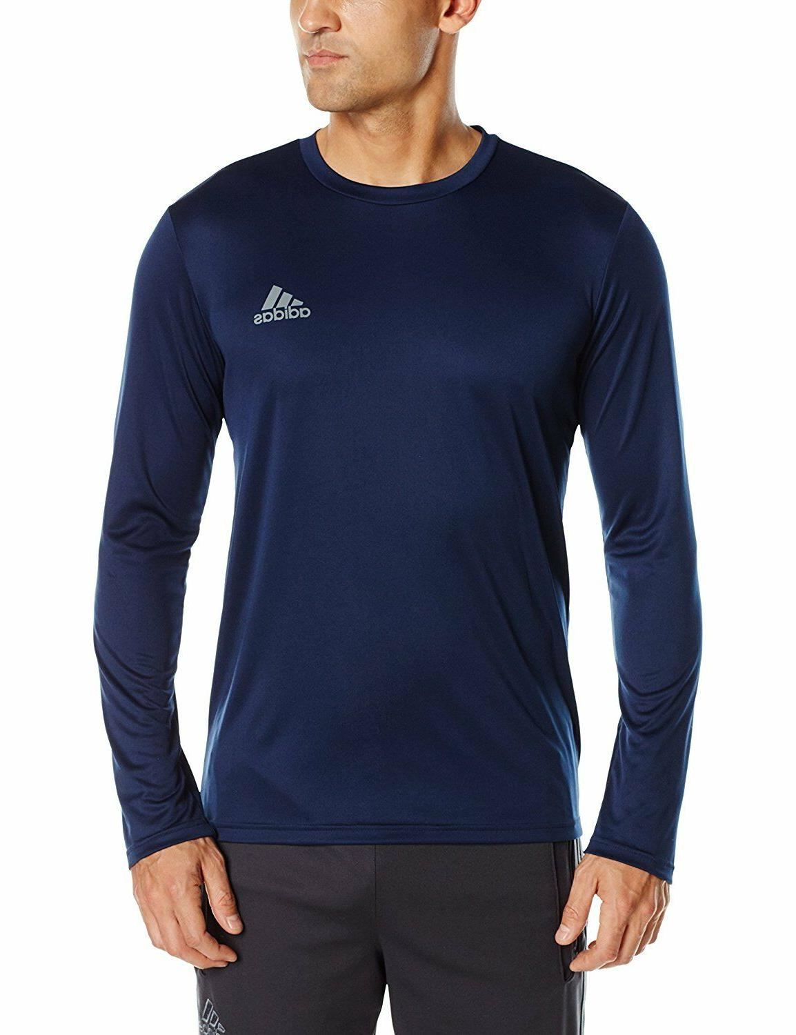 Adidas Climalite Men's Training Essentials Tech Long Sleeve