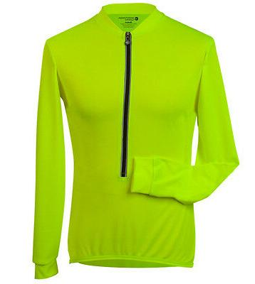 Aero Tech Designs Cycling Biking Long Sleeve Jersey Safety Y
