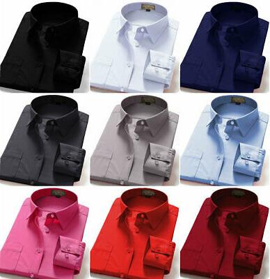 dress shirts men s regular fit long
