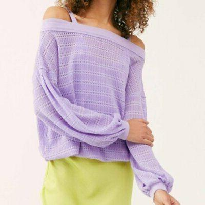 Free Sleeves Sistine Cold Hacci Purple M
