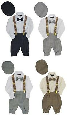 G284 Gino Giovanni Baby Boys Vintage Style Knickers Outfit S