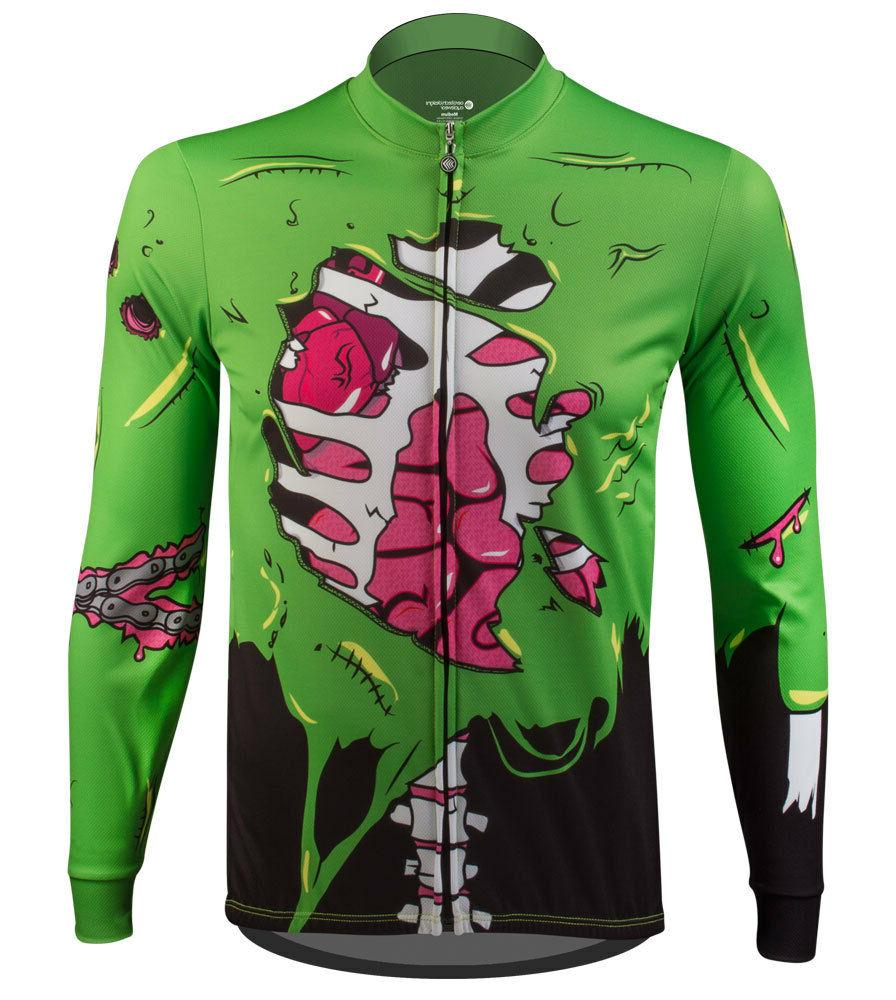 Aero Tech Designs Halloween Zombie Long Sleeve Cycling Bike