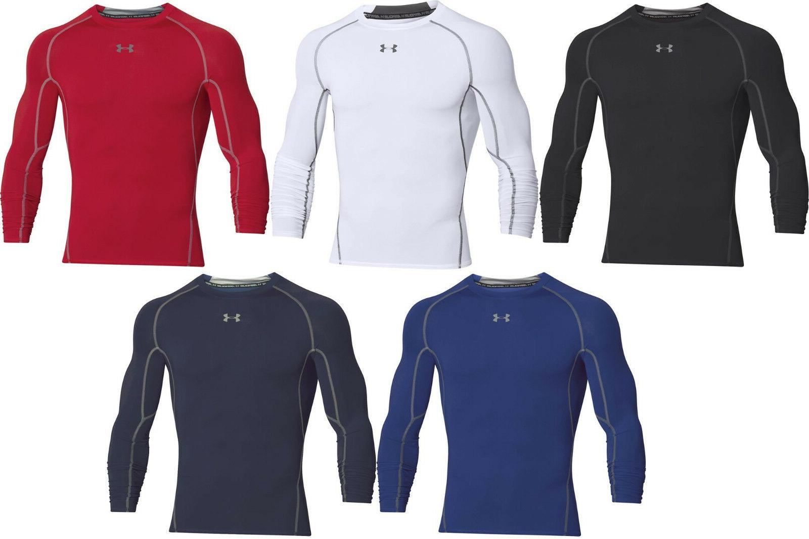 heatgear compression men s long sleeve shirt