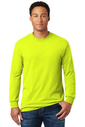 heavy cotton long sleeve t shirt mens