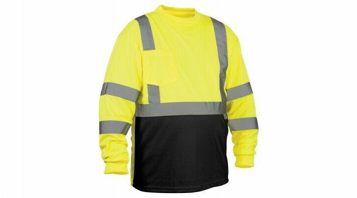 Hi 3 Wicking Long Sleeve Reflective
