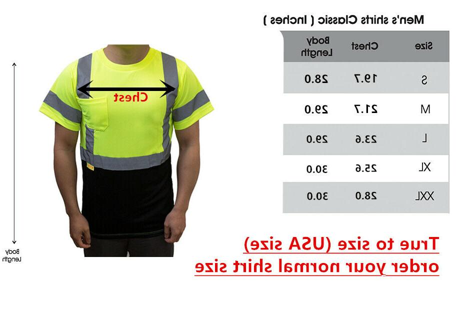 Hi Vis ANSI 3 Safety Wicking Long Sleeve Reflective