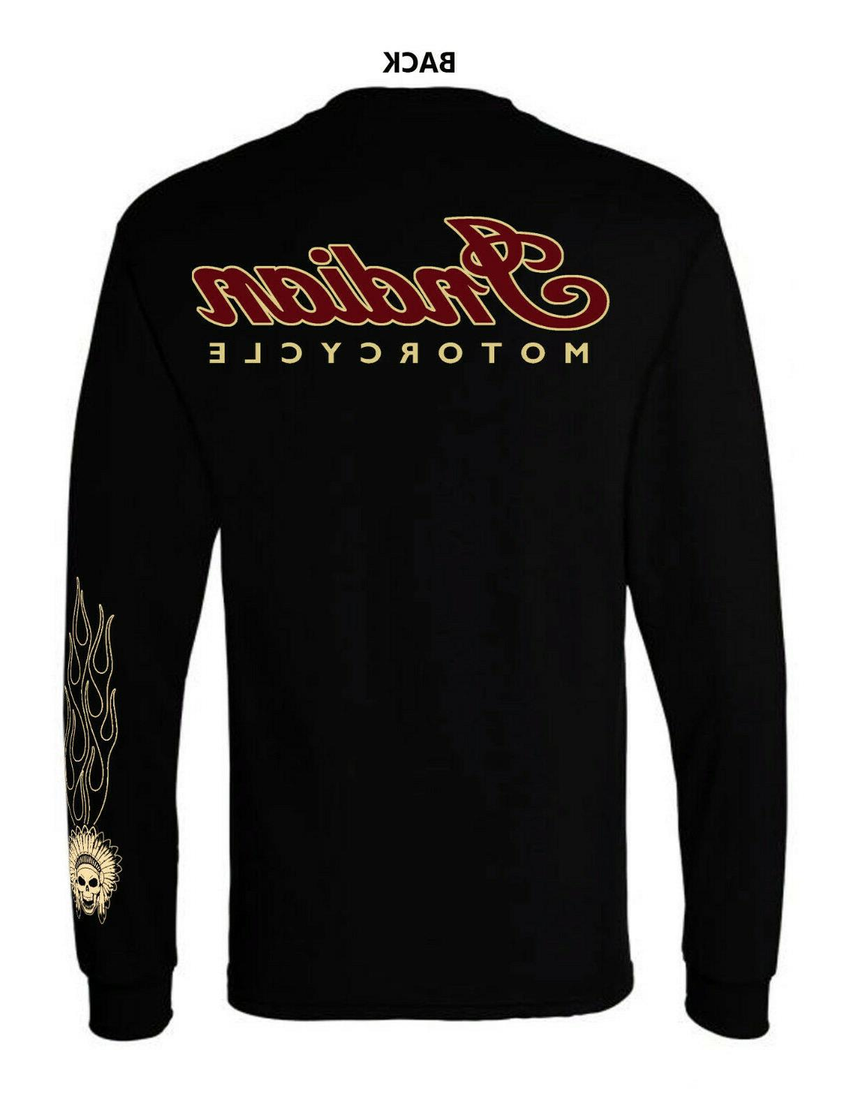 indian motorcycle t shirt long sleeve