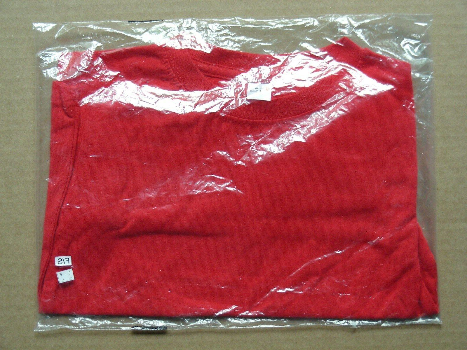 EARTH ELEMENTS KID'S LONG SLEEVE RED T-SHIRT, SIZE 3T *NEW*