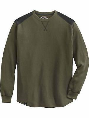legendary anglers men s breakline thermal crew