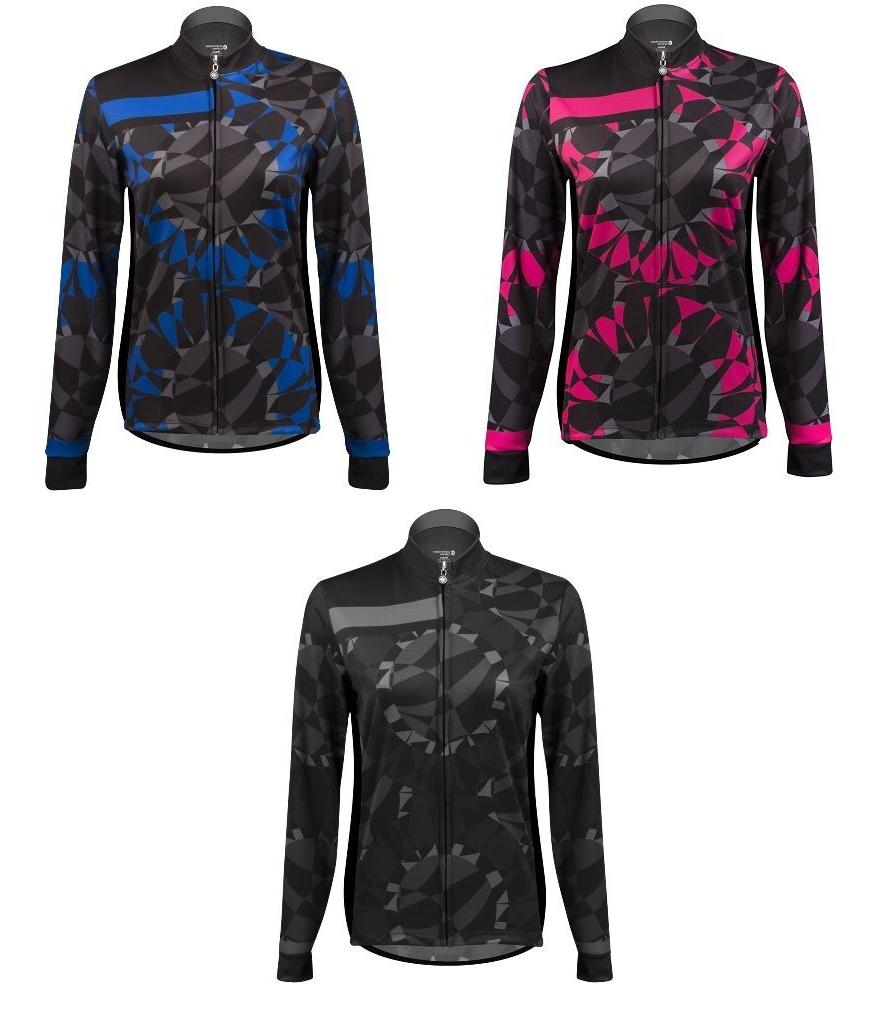 Aero Tech Designs Long Sleeve Biking Mosaic Top Cycling Bike