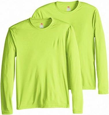 long sleeve cool dri t