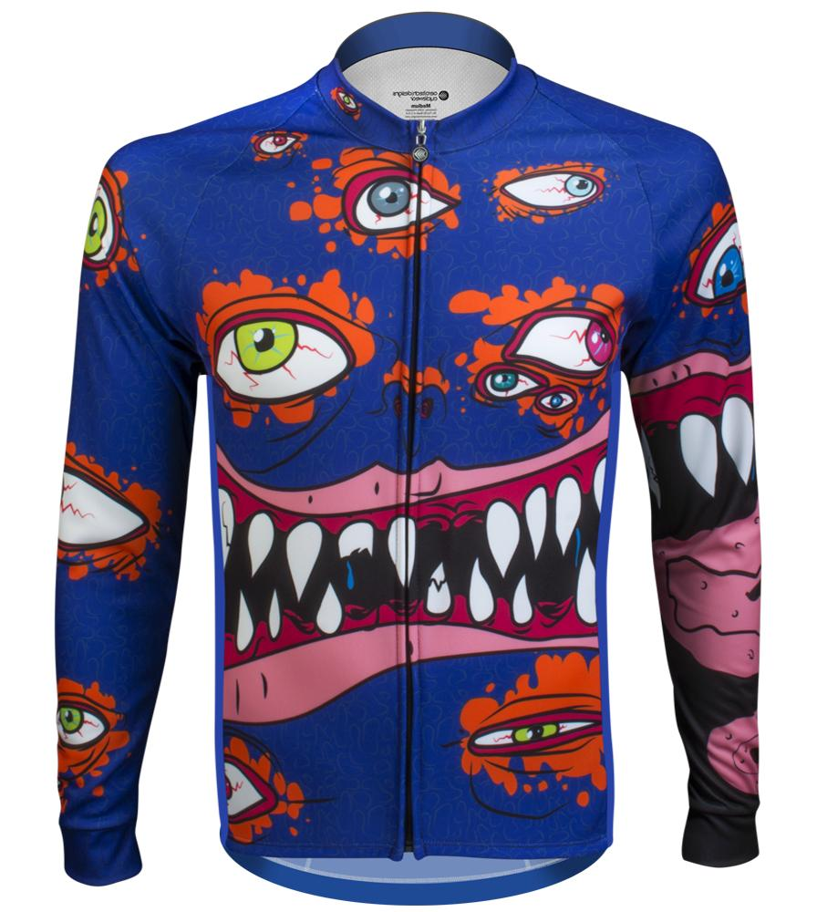 Aero Tech Designs Long Sleeve Eyes On The Road Halloween Cyc