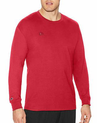 long sleeve tee shirt classic cotton jersey