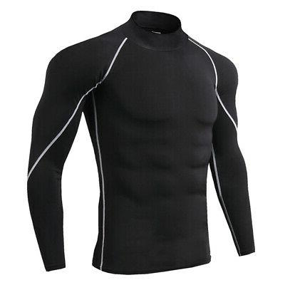 Men Long Baselayer Under Tights Sports