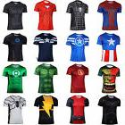 Men Marvel Super Hero Compression T-shirts Sports Jersey Top