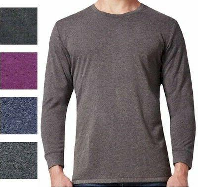 Men's Weatherproof 32 Degrees Long Sleeve Crew Neck Shirt Ch