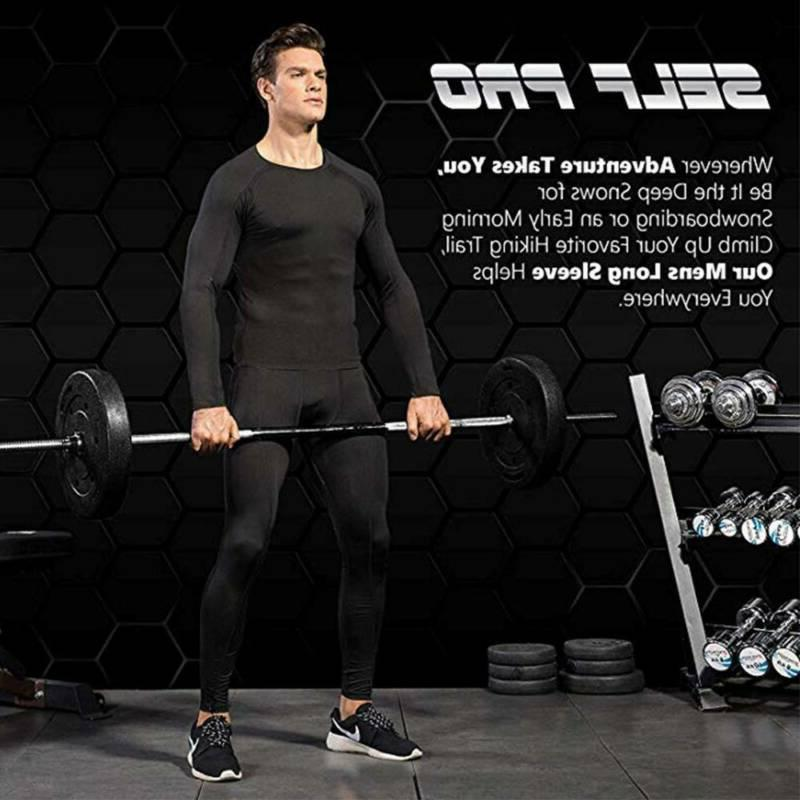 Men's Compression Thermal Base-Layer Long-Sleeve