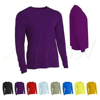 men s cooling performance long sleeve crew