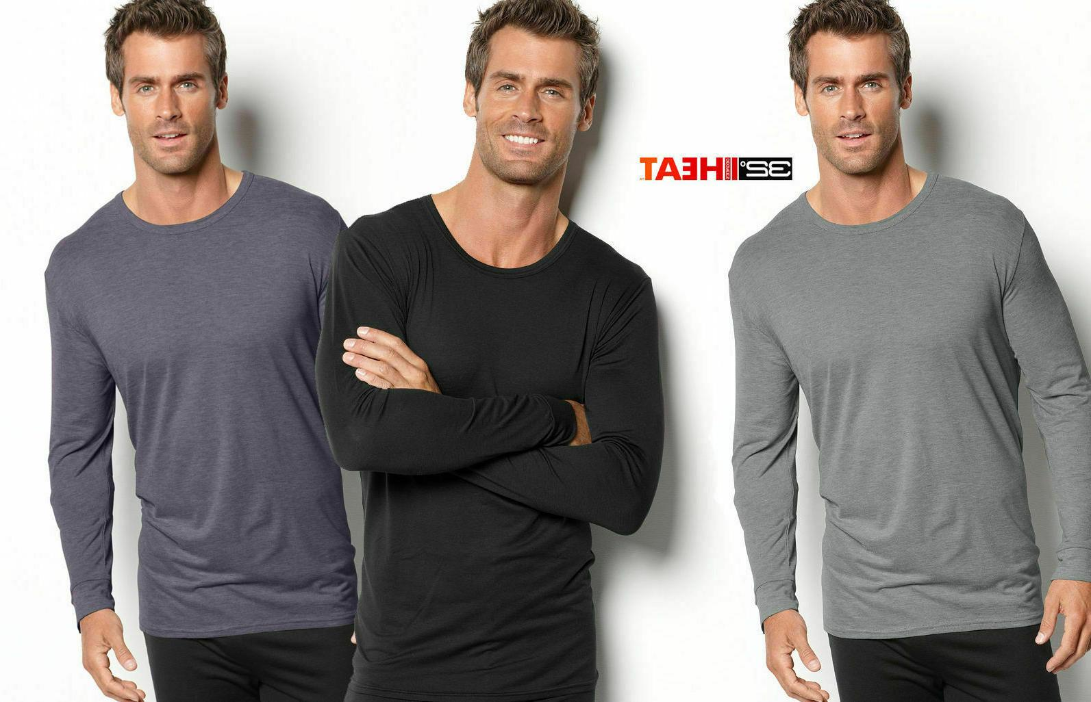 men s long sleeve crew neck shirt