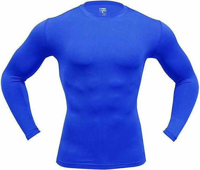 ARMEDES Long Sleeve T-Shirt Cool Compression Top