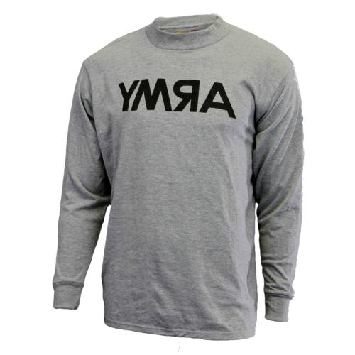 men s long sleeve t shirt gray